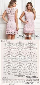 Imagen de una blusa a crochet y ganchillo