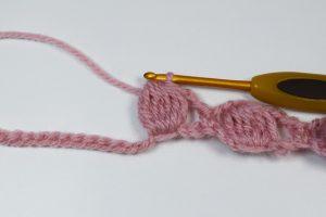 Imagen de Punto garbanzo a crochet y ganchillo 2