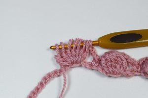 Imagen Punto garbanzo a crochet y ganchillo 1