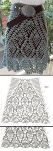 Imagen Falda new rosa crochet ganchillo