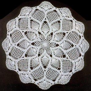Imagen centro de flores 3 a crochet