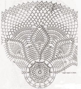 Patron centro flores 1 a crochet