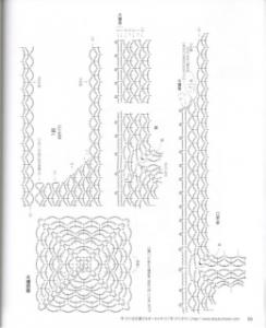 Blusa cuadrada a crochet patron 1