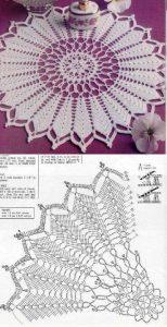 Centro de mesa a crochet 3