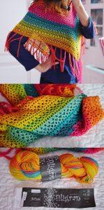 Imagen del poncho a colores